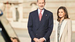 La reina Letizia saca su lado más 'animal' en su bienvenida al presidente de Perú