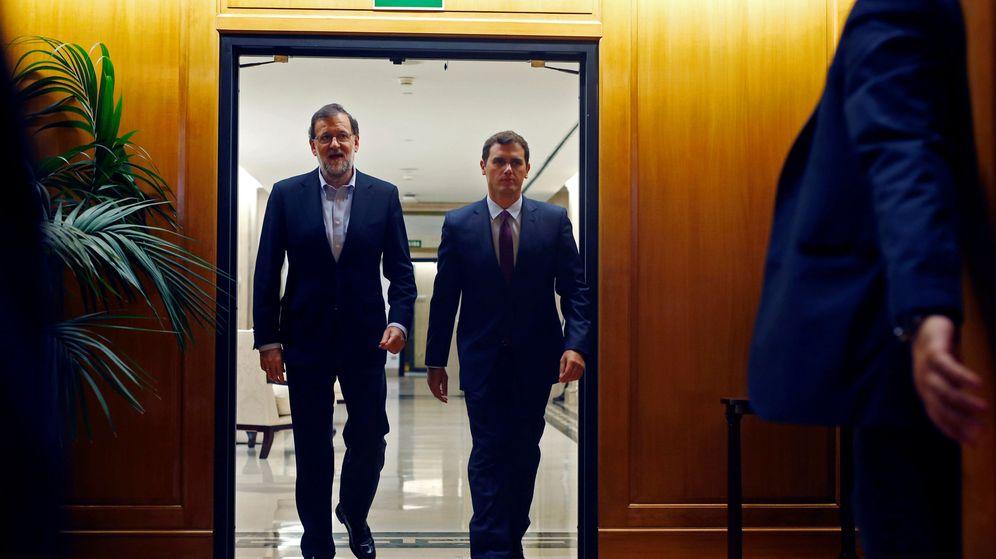 Foto: Mariano Rajoy y Albert Rivera (EFE)