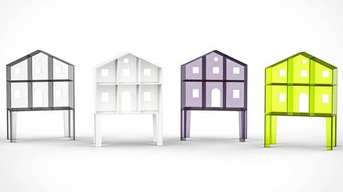 La casa de muñecas minimalista de Kartell