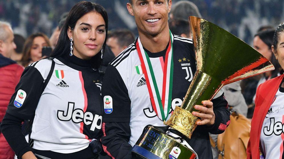 Foto: Cristiano Ronaldo y Georgina Rodríguez. (EFE)