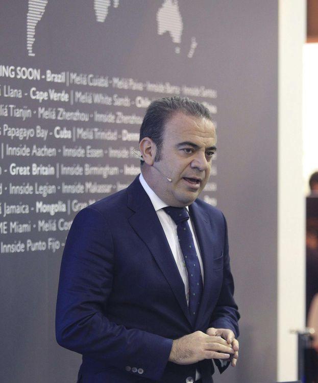 Foto: El vicepresidente y consejero delegado de Meliá Hotels International, Gabriel Escarrer