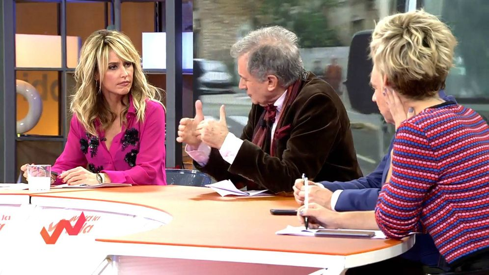 Foto: Emma García en 'Viva la vida'. (Mediaset España)