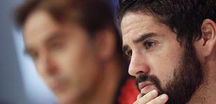 Post de Por qué los defensores de Lopetegui en el vestuario del Real Madrid juegan con fuego