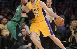 Ocho derrotas después, los Lakers emergieron  ante Boston Celtics