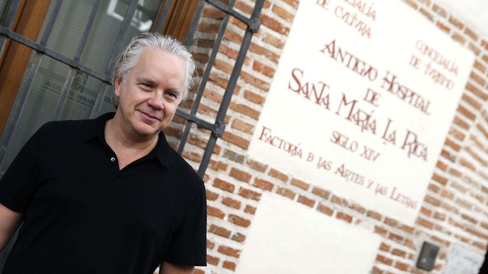 Foto: Tim Robbins en Alcalá de Henares (Efe)