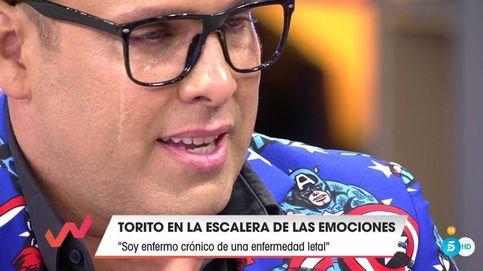 Torito se rompe en directo al hablar con Emma García sobre su enfermedad letal