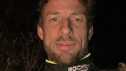La accidentada aventura de Jenson Button: 17 horas tirado en mitad del desierto