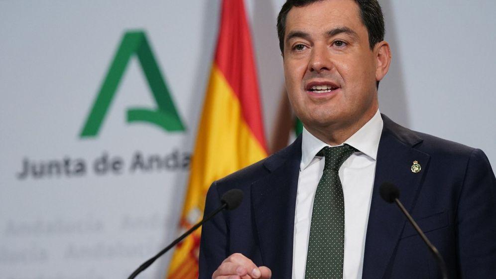 Foto: Juanma Moreno, presidente de la Junta. (Junta de Andalucía)