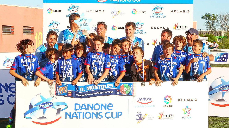 El Móstoles dio en la diana en la Fase Centro de la Danone Nations Cup