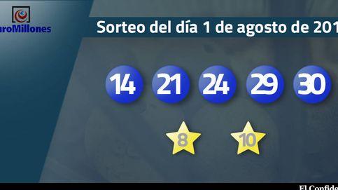 Resultados del sorteo del Euromillones del 25 de julio de 2017: números 14, 21, 24, 29 y 30