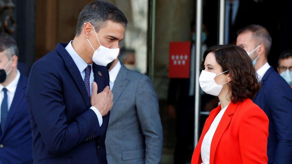 Foto: Pedro Sánchez e Isabel Díaz-Ayuso en su última reunión. (EFE)