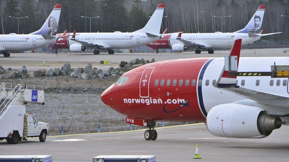 Foto: Aviones de Norwegian. (Reuters)