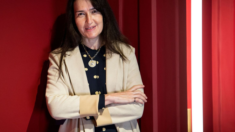 Ángeles González-Sinde, el pasado abril en el estreno de 'Las troyanas'. (EFE)