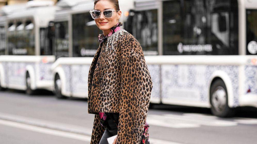 Foto: Olivia Palermo, en la Paris Fashion Week. (Getty)