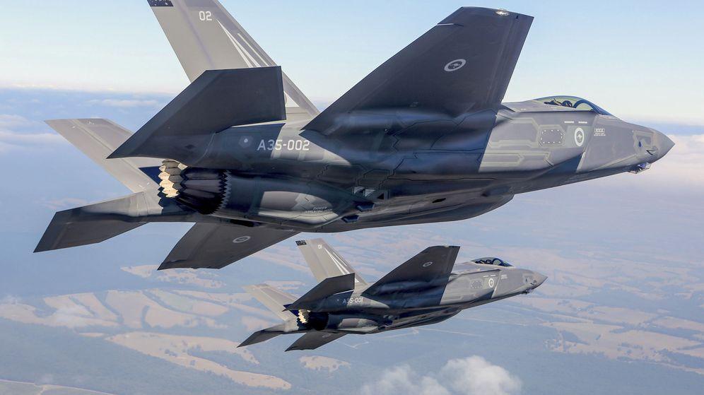 Foto: Dos F-35. (Reuters)