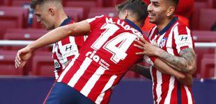 Post de El Atlético de Madrid olvida sus fantasmas internos y liquida al Eibar sin piedad (5-0)