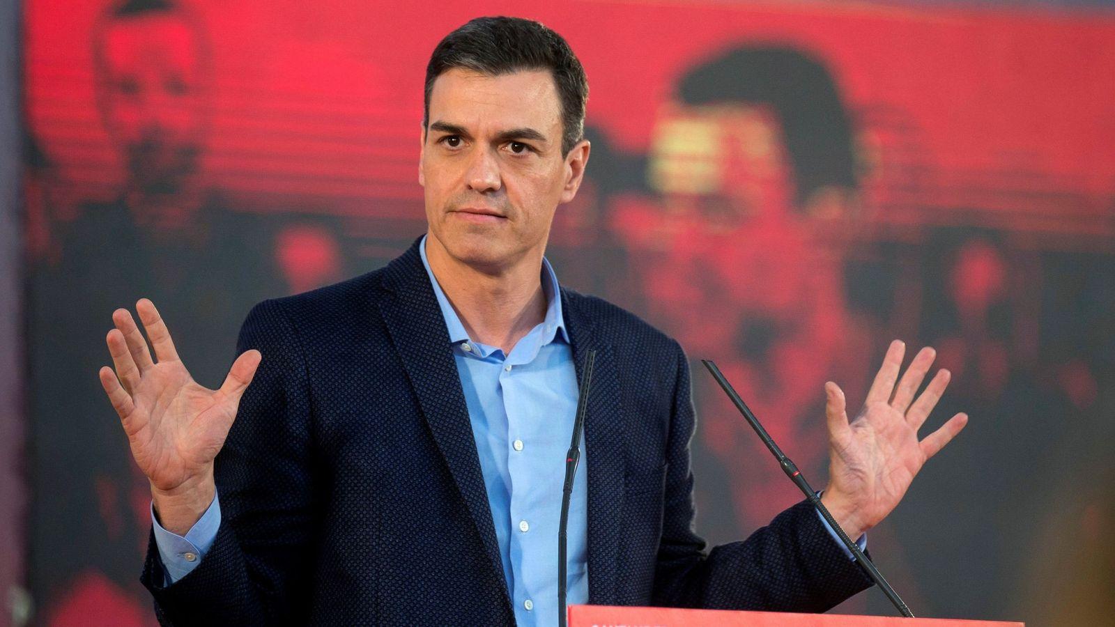 Foto: El presidente del Gobierno y candidato socialista. (EFE)