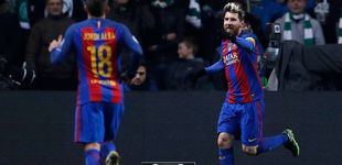Post de Leo Messi vuelve a tiempo para pintar una sonrisa en la vida del Barcelona