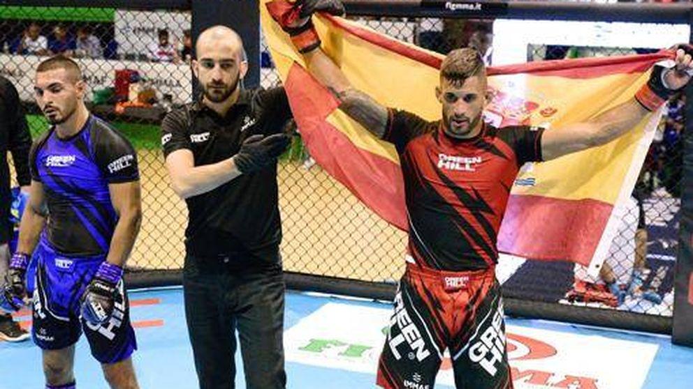 España se gradúa en MMA: dos platas y dos bronces en el Campeonato de Europa
