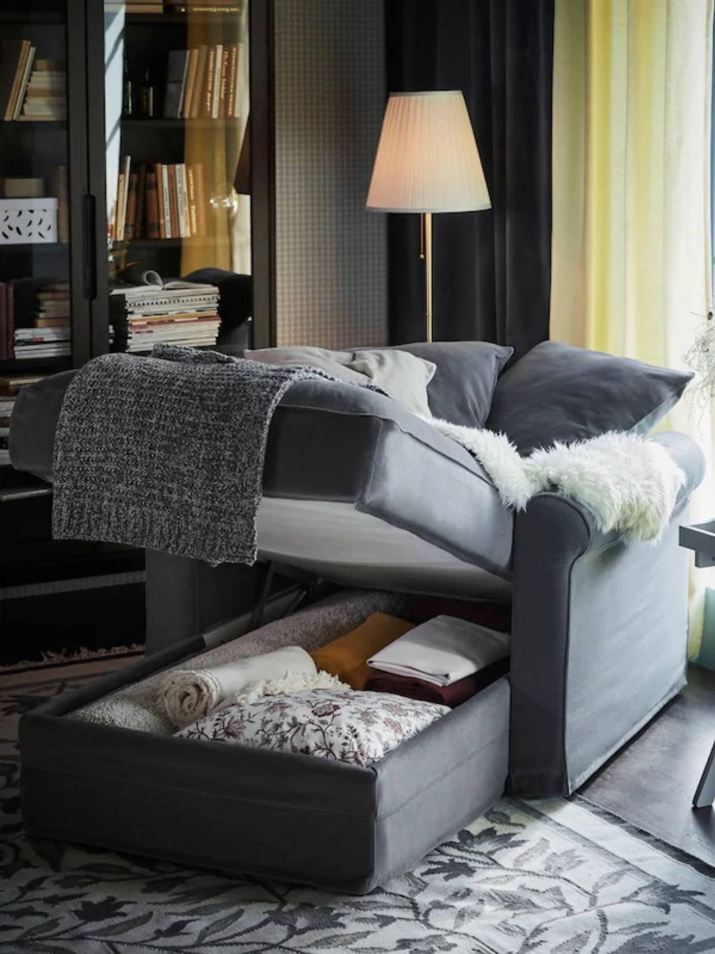 Chaise longue de Ikea para tu rincón de descanso. (Cortesía)