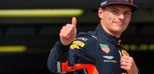 Post de Max Verstappen y el
