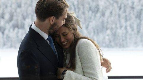 Philippos de Grecia y Nina Flohr celebran su 'reboda' con un romántico banquete entre amigos