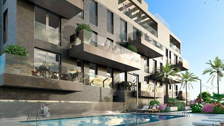 Otra de las casas diseñadas en Mairena del Aljarafe. (Grupo Abu)