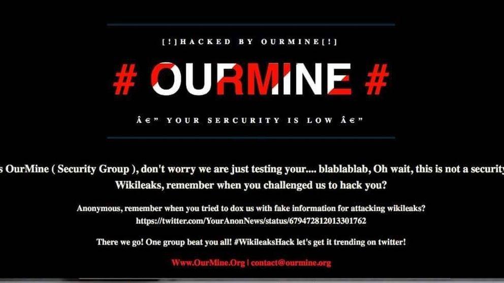 Wikileaks hackeado: así logró Ourmine asaltar la web de Julian Assange