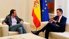 Iglesias da un paso a un lado si no hay más vetos y si Sánchez acepta sus ministros