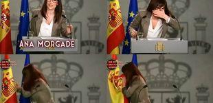 Post de  El día que Ana Morgade se limpió la nariz con la bandera de España