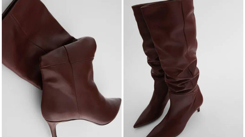 Las nuevas botas de Zara. (Cortesía)