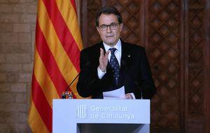 Sólo el 47% de los catalanes votaría ahora 'sí' a la independencia