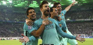 Post de El resbalón del City hace la victoria del Barça en Alemania un poco más feliz
