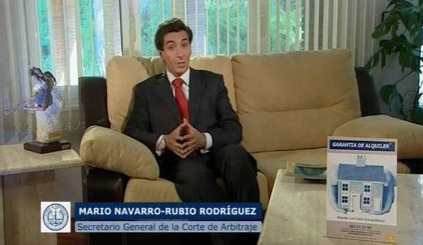 Foto: Mario Navarro-Rubio, en un anuncio de la Garantía de Alquiler