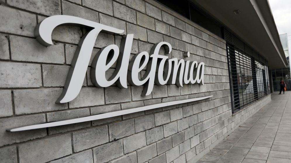 Foto: Logotipo de Telefónica (Reuters)