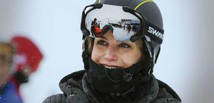 Post de La reina Letizia rompe la tradición también con la ropa de esquí