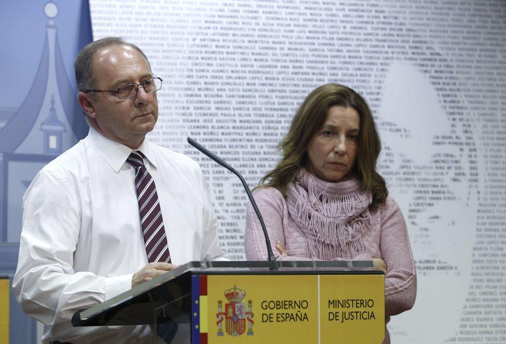 Foto: Los padres de Marta del Castillo.