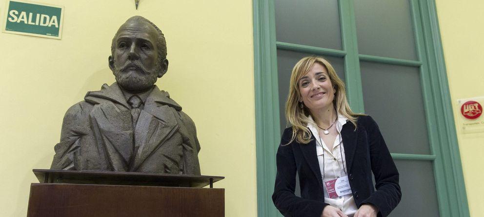 Foto: Carmen Castilla, número 1 de UGT Andalucía. (Efe)