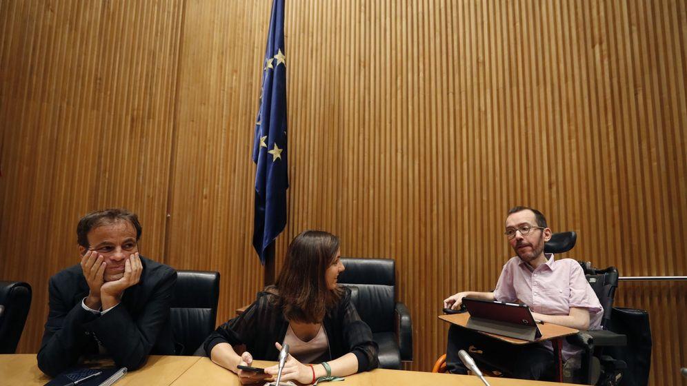 Foto: Ione Belarra y Pablo Echenique han dirigido la negociación. EFE