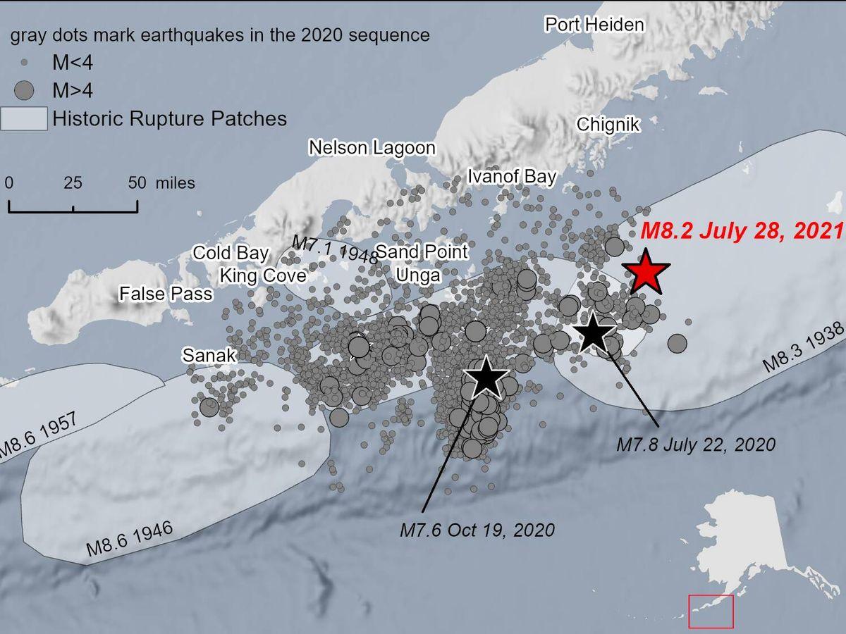 Foto: El terremoto de Alaska ha sido el mayor registrado en 50 años en Estados Unidos.
