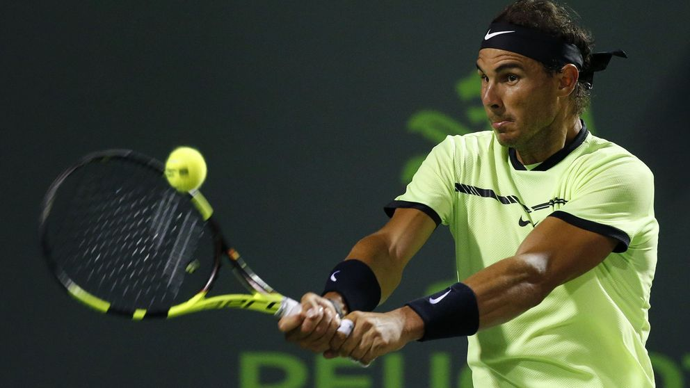 Nadal supera con solvencia a Sock y alcanza las semifinales de Miami