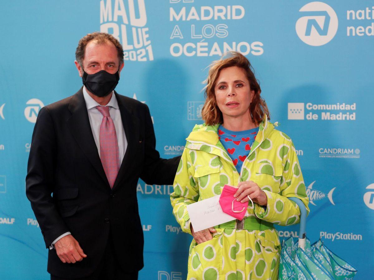 Foto: Agatha y Luis Gasset, en una imagen reciente. (EFE)
