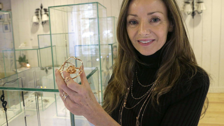 Miriam de Ungría, cuando creó su marca de joyas MdeU. (EFE)