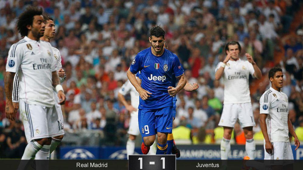 Foto: Morata elimina al Madrid de la Champions y la Juventus jugará la final ante el Barcelona