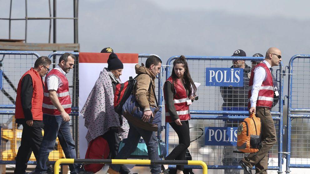 Grecia paraliza las deportaciones a Turquía ante la ola de peticiones de asilo