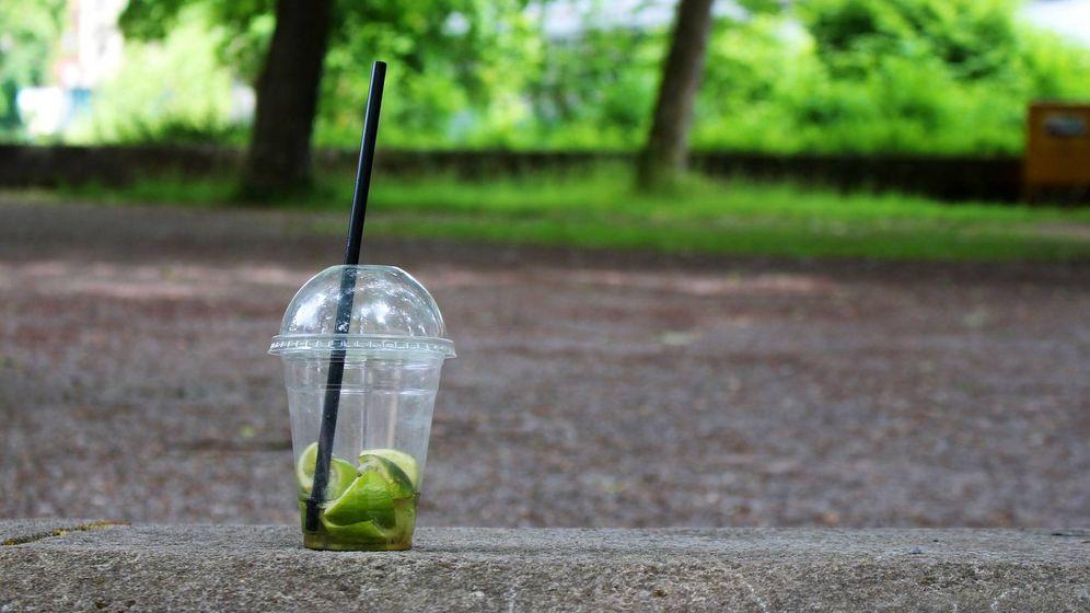 Foto: Un vaso de plástico de un solo uso. (Pixabay)