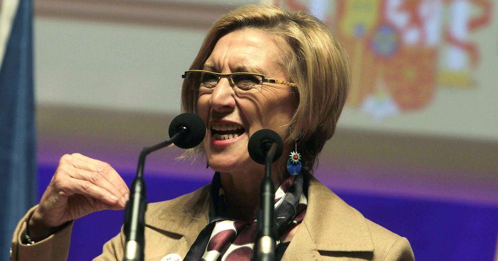 Foto: La líder de UPyD, Rosa Díez, en un acto de su partido (Efe)