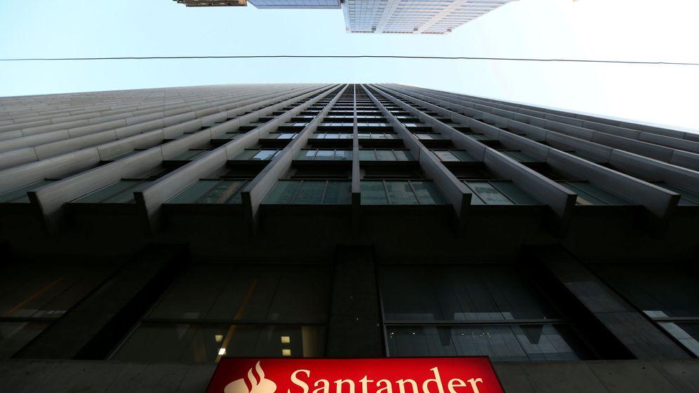 Foto: El logo de Santander. (Reuters)