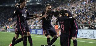 Post de El Barcelona supera el derbi con la inestimable ayuda de Jurado