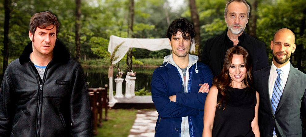 Foto: Jaime Renedo junto a Natalia Verbeke, Miguel Abellán, Gonzalo de Castro y Gonzalo Miró (Vanitatis)